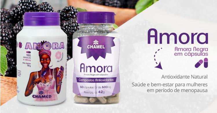 Amora Negra em Cápsulas - Antioxidante natural e alívio na menopausa